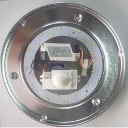 Led Applique 260mm 14W avec détecteur réglable 4000K Look Industriel