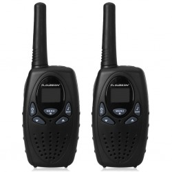 Lot de 2 Talkie Walkie 8 Canaux UHF400-470MHZ PMR 2-Way Radio 5KM Interphone