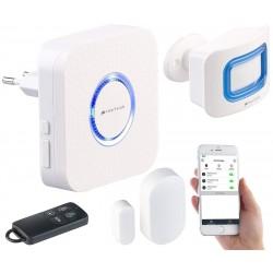 Système alarme complet - Connecté - Application - WIFI - Compatible Alexa