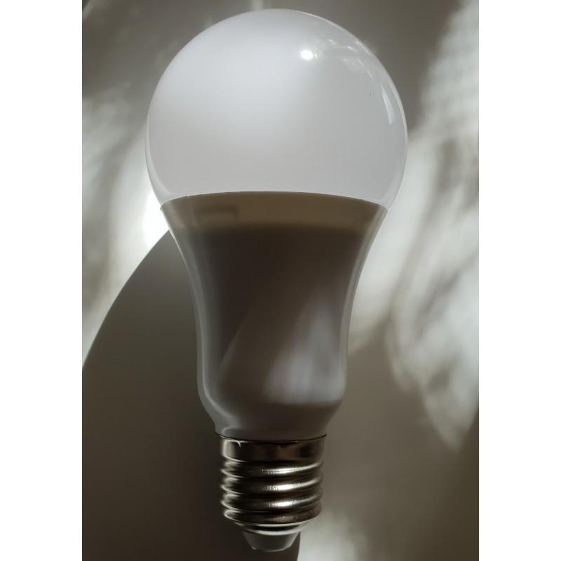 Lot de 8 Ampoules Led E27 9W Blanc Chaud Remplace 90W