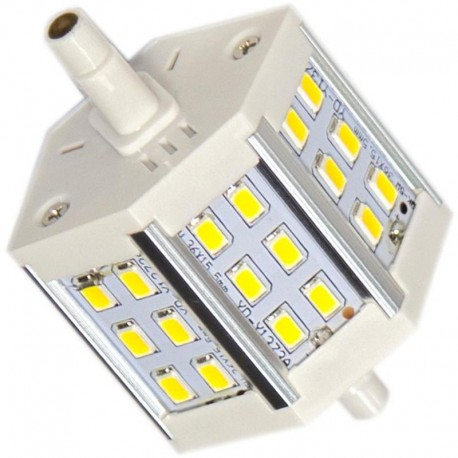Lot de 8 Ampoules Led E27 9W Blanc Chaud Remplace 90W