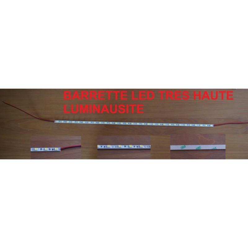 Barrette strip de LED 56 cm ! 90 Leds Blanches 12V Rare ULTRAPUISSANT