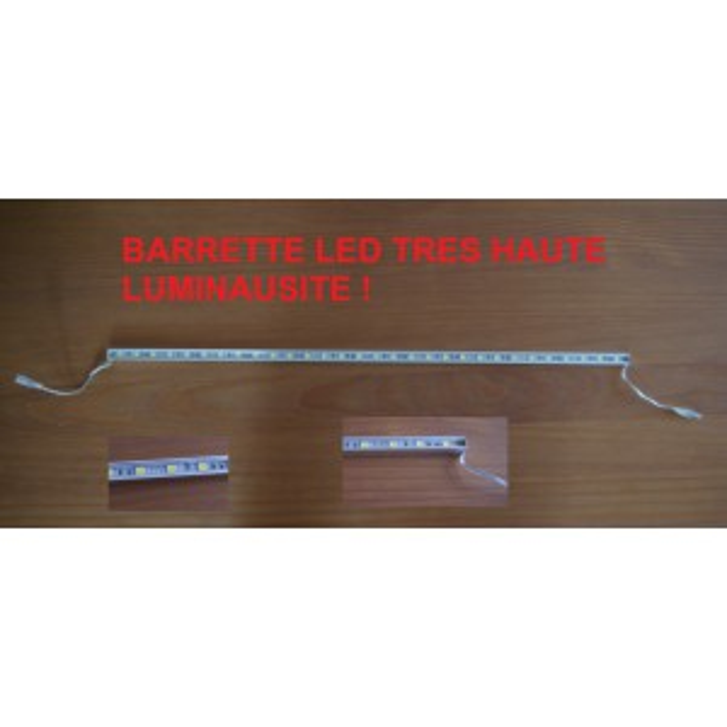 Barrette strip de LED 57 cm ! 90 Leds Blanches 12V Rare ULTRAPUISSANT ETANCHE
