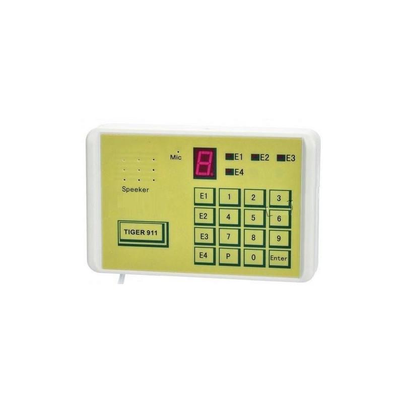 Transmetteur Telephonique Telealarme Autonome 4 numéros - Contrôlable à distance