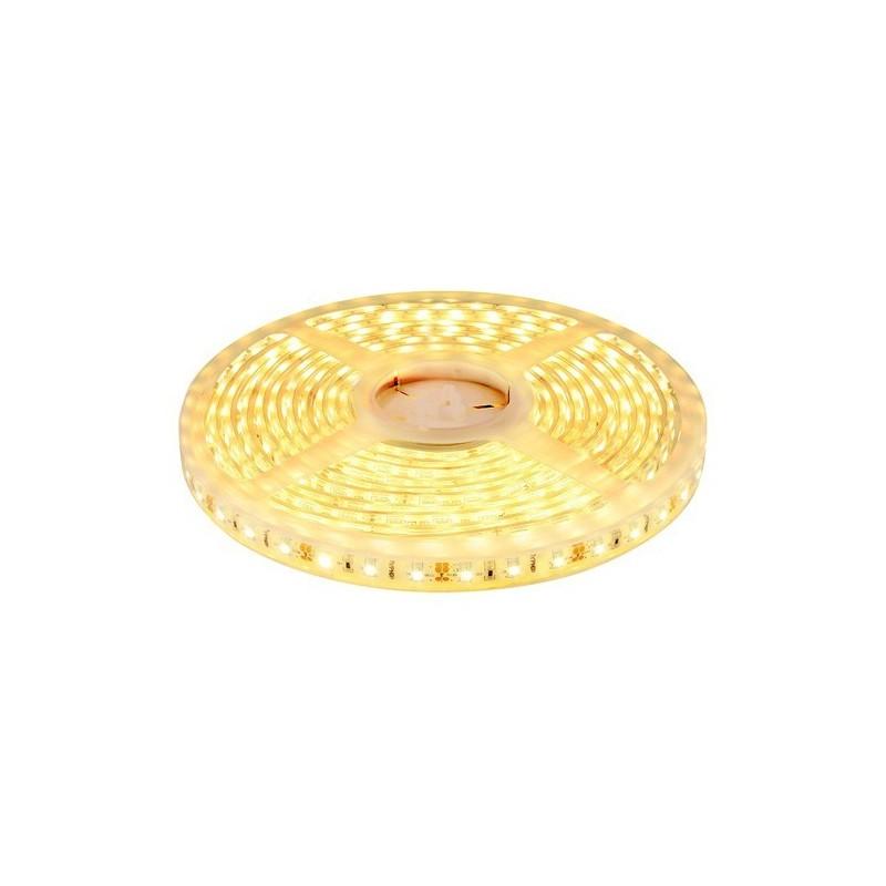 Ruban LED Blanc Chaud 3000K Etanche 5m IP68 24V 300 leds SMD 5050 72W