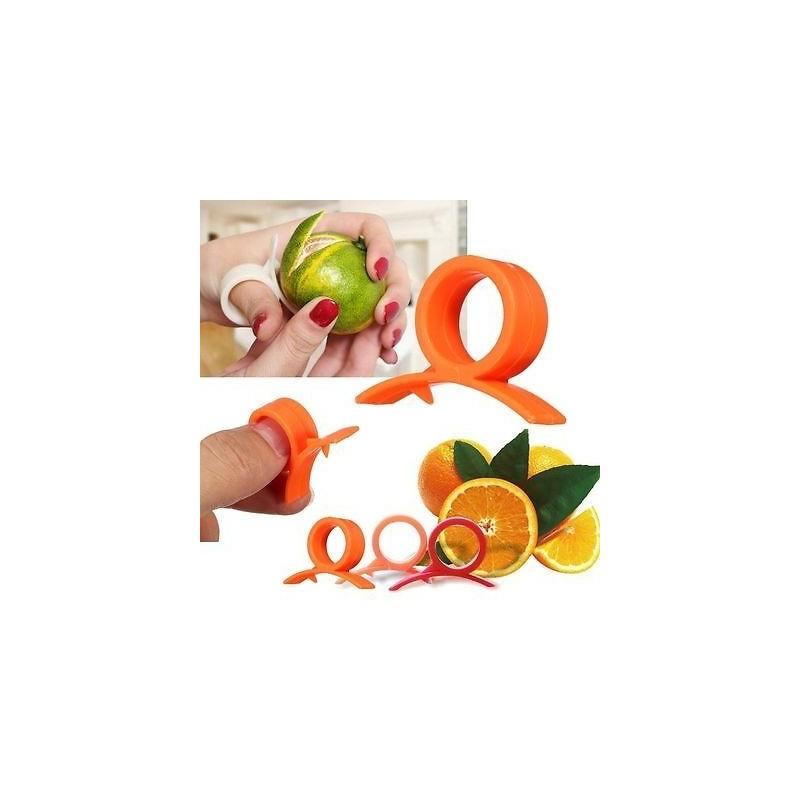 Bague Eplucheur Agrume Citron Orange Outil Cuisine Neuf, livre en 48h Gratuit