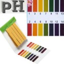 Papier PH Testeur Piscine Aquarium Hydroponique Test de 1 a 14 - 80 Languettes