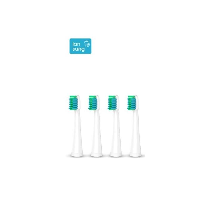 4 brossettes de rechange pour brosse à dent Sonic U1
